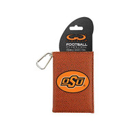 NCAA Oklahoma State Cowboys Classic Football ID Holder One Size Brown - DD655766