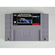 Nigel Mansell's World Championship Racing For Super Nintendo SNES With - EE657042