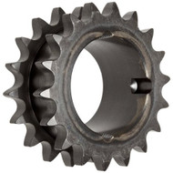 Martin Roller Chain Sprocket Hardened Teeth Taper Bushed Type A Hub - DD657052