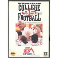 Bill Walsh College Football '95 For Sega Genesis Vintage - EE657752