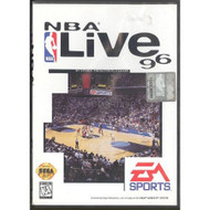 NBA Live 96 For Sega Genesis Vintage Basketball With Manual and Case - EE657766