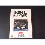 NHL '95 E Unknown For Sega Genesis Vintage Hockey With Manual and Case - EE657772