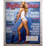 Jessica Simpson Rolling Stone Magazine #936 November 27 2003 Book - D657995