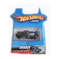 Hotwheels Turbo Driver Car-Tridge Invader Toy Blue - DD658217