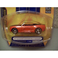 Jada Bigtime Muscle Wave 14 Orange 2007 Camaro Convertible Concept Toy - EE658258