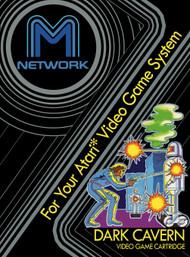 Dark Cavern For Atari Vintage - EE658356