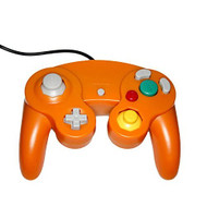 GameCube USB Controller Orange For Windows MAC And Linux By Mars - ZZZ99126