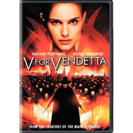 V For Vendetta Widescreen Edition On DVD with Natalie Portman - EE658906