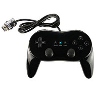 New Classic Pro Controller For 1PCS Black For Wii - ZZ659027