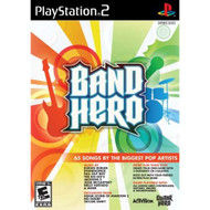 Band Hero Stand Alone Software For PlayStation 2 PS2 Music - EE659177