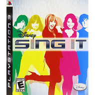 Sing It For PlayStation 3 PS3 Disney With Manual and Case - EE659596