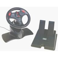 Interact V3 Racing Wheel For PlayStation 1 PS1 Black JLN935 - EE660118