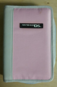 Nylon Zippered Nintendo Case Pink For DS - EE660460