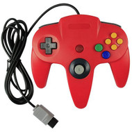 Generic Wired Game Controller For N64 Color Red Nintendo - ZZ660519