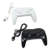 2 X New Classic Pro Remote Controller For Black&white US Ship For Wii - ZZ660551
