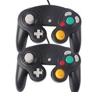 Lof Of 2 Black GameCube Controllers 2X - ZZ660558