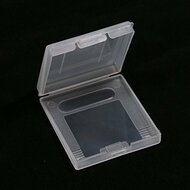 Plastic Game Cartridge Case Dust Cover For Color Clear 1PCS - EE660595