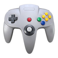 3rd Party Nintendo 64 N64 Classic Controller Gray - ZZ660839