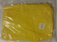 "Magid SC1815 Econowear PVC Disposable Shoe Cover 12"" Length Yellow - DD661077"