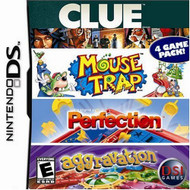 Clue/mouse Trap/perfection/aggravation For Nintendo DS DSi 3DS 2DS - EE661155
