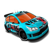 Hot Wheels Citroen C4 Rally Blue #04 Thrill Racers City Stunt 12 - 3/5 - DD661637