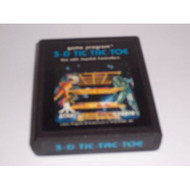 2600 Game Cartridge 3-D Tic-Tac-Toe For Atari Vintage - EE661779