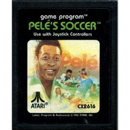 2600 Game Cartridge Pele's Soccer For Atari Vintage - EE661792