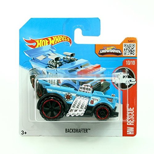 f272933c2f7 Backdrafter 220/250 Short Card Package Hot Wheels 2016 Hw Rescue