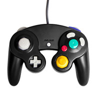 GameCube Controller And Extension Cable Black Compatible For Wii - ZZ662002