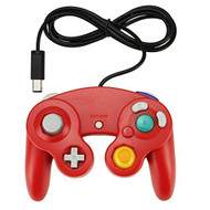 Red Game Controller Pad For Nintendo GameCube GC Wii - ZZ662026