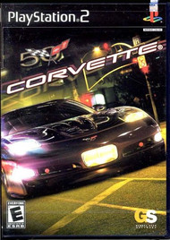 Corvette For PlayStation 2 PS2 Flight With Manual and Case - EE662195