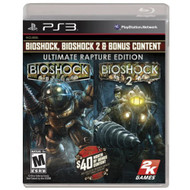 Bioshock Ultimate Rapture Edition For PlayStation 3 PS3 Shooter - EE662516