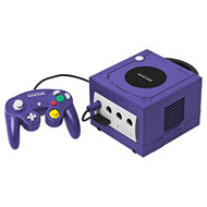 Nintendo GameCube Game Console In Purple - QQ662782