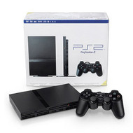 PlayStation 2 Console Slim PS2 Black - QQ663253