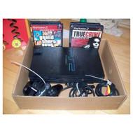PlayStation 2 Console Bundle PS2 Lot - QQ663259