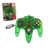 Jungle Green N64 Gamepad Controller Nintendo 64 - ZZ663588