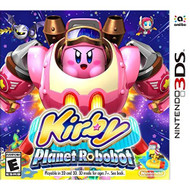 Kirby: Planet Robobot Nintendo Standard Edition For 3DS With Manual - EE663832
