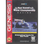 Nigel Mansell's World Championship Racin For Sega Genesis Vintage - EE664059