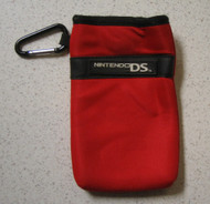 BD&A Neoprene Travel Pouch Red Game For DS - EE664138