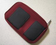 BD&A Essentials XL Zippered Neoprene Burgundy Pouch Red For 3DS - EE664163