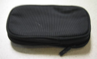 Rocketfish Double Compartment Zippered Nylon Travel Carry Case Black - EE664576