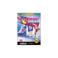 Winter Olympic Games For Sega Genesis Vintage - EE664765