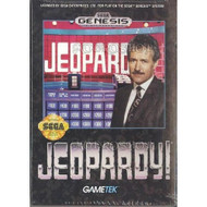 Jeopardy! For Sega Genesis Vintage With Manual and Case - EE664783