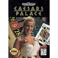 Caesars Palace For Sega Genesis Vintage - EE664784