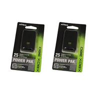 2 Power Pak Black For Xbox 360 - EE664874
