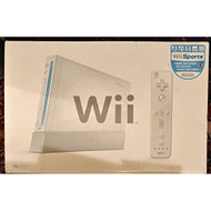 Nintendo Wii Console White With Wii Sports - ZZ665216