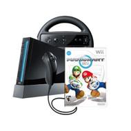 Wii Console With Mario Kart Wii Bundle Black - ZZ665229