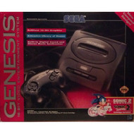 Sega Genesis 2 Console Sonic The Hedgehog 2 Bundle Pack - ZZ665388