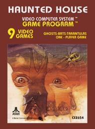 Haunted House Sears Telegames 2600 For Atari Vintage - EE665516