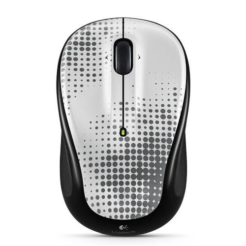 Logitech Unifying Wireless Mouse Pewter M317 M325 - ZZ665601